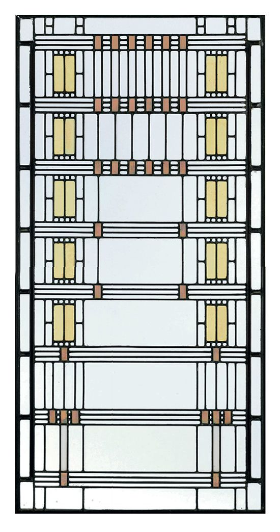 The stained glass windows of Frank Lloyd Wright  Images via Christies    Frank Lloyd Wright Stained Glass Circles