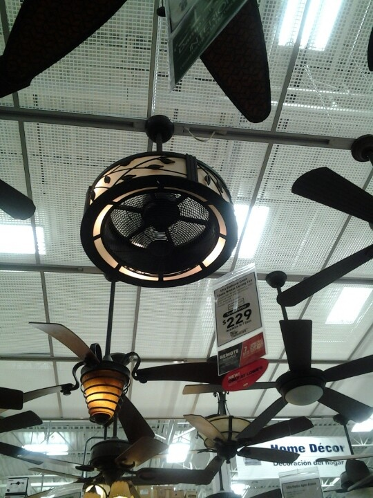 Eastview Drum Ceiling fan from Lowes