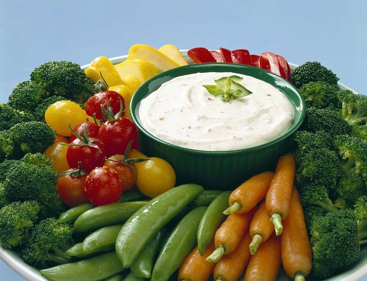Garden Vegetable Dip | Hidden Valley® Ranch Dressing packet and Greek ...