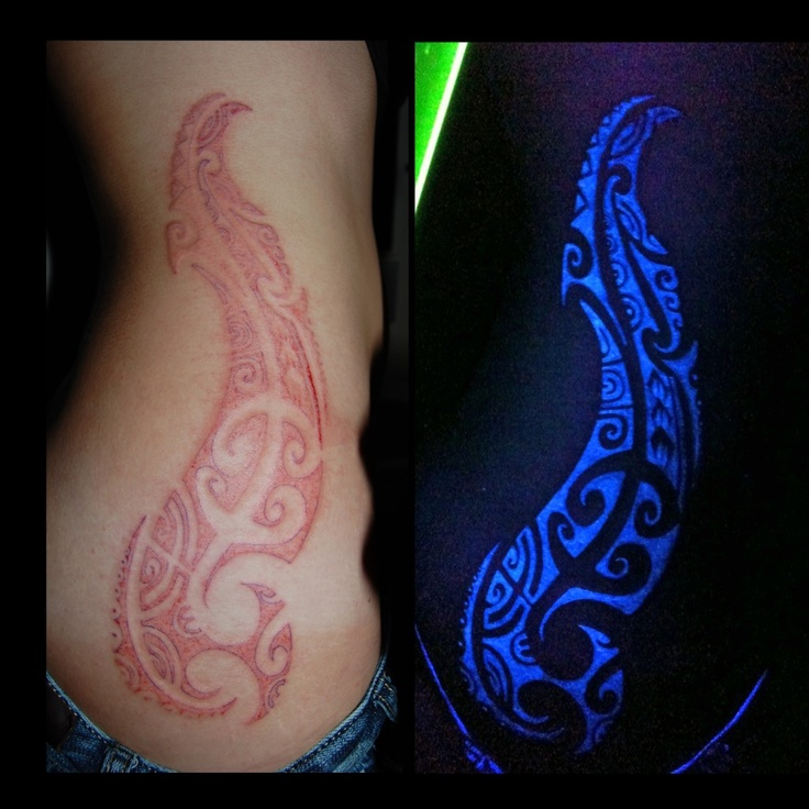 White ink tattoo under black light tattoo pinterest for What is the best black ink for tattooing