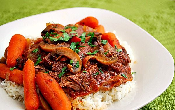 Italian Pot Roast | cows r people, too? | Pinterest