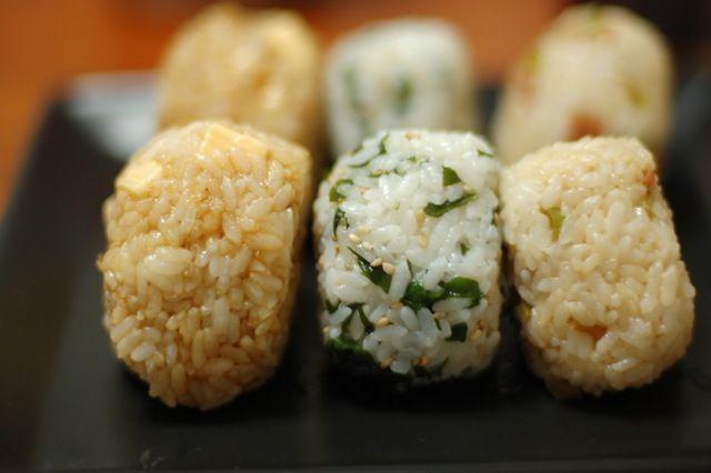 Onigiri. Japanese rice balls. | A sense of Japan | Pinterest