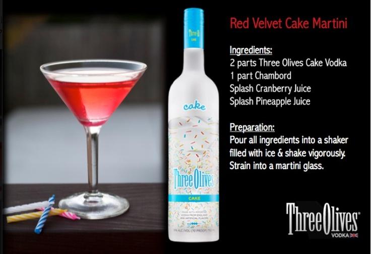 Red Velvet Cake Martini.. | Drinks!!! | Pinterest