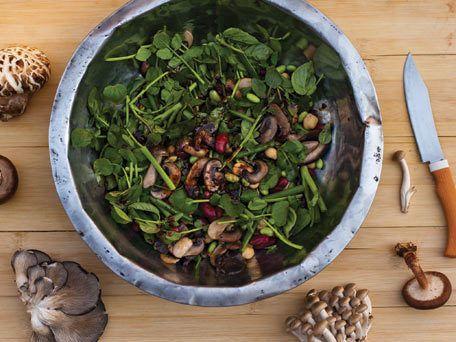 Wild Mushroom Salad   Recipe