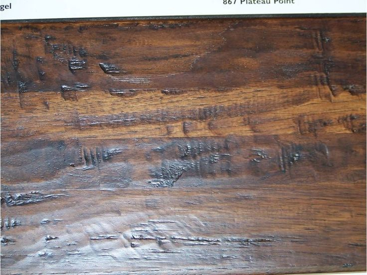 Scraped distressed hardwood flooring rustic hardwood for Distressed wood flooring