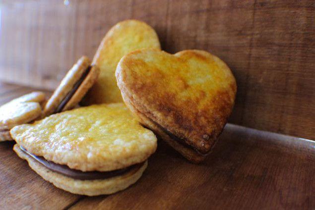 Beer Biscuit Sandwich Cookies | Recipes I Love :: Desserts | Pinterest