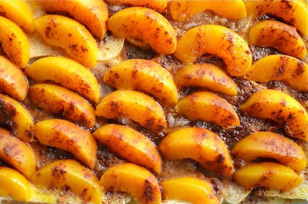 Overnight Peaches & Cream French Toast from Rachel Schultz