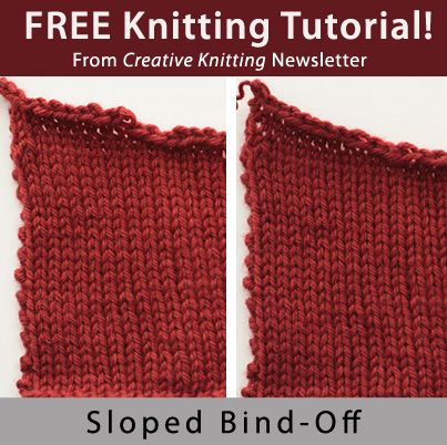 Creative Knitting : CREATIVE KNITTING NEWSLETTER Free Knitting Projects