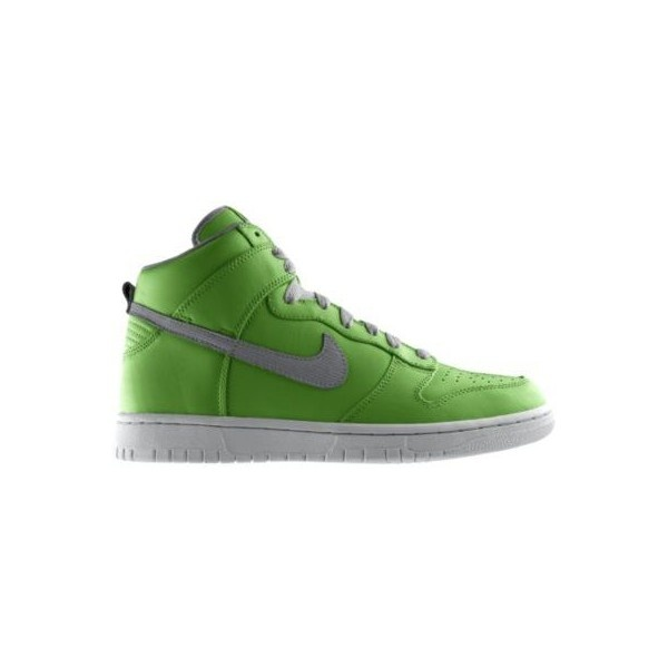 Nike Dunk High Premium iD Custom Women's Shoes - Green, 12 ($155