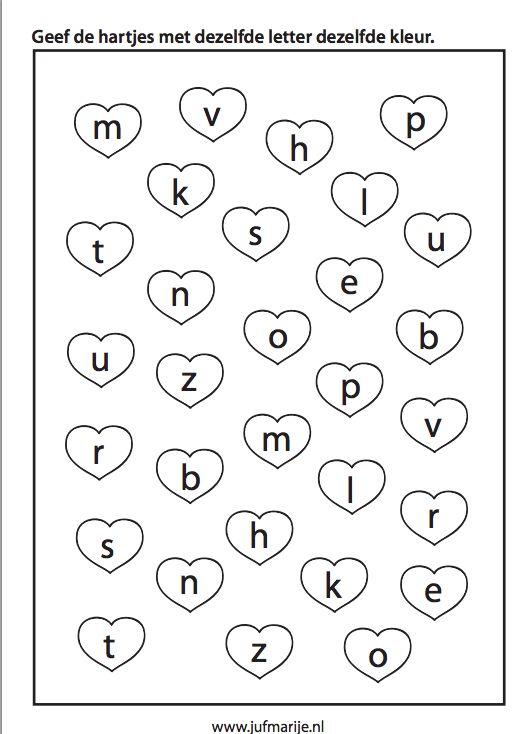 werkblad : letters : Pinterest