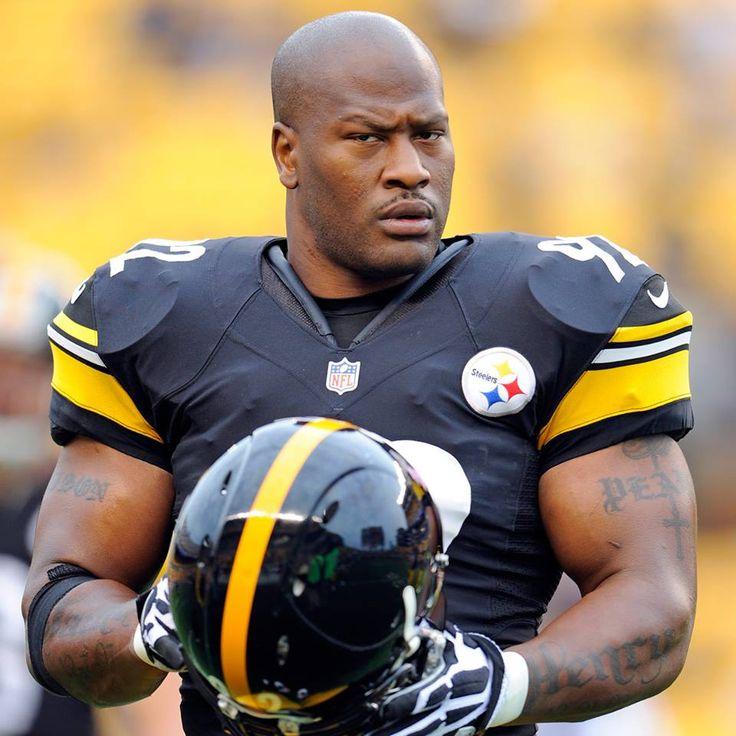 James Harrison, Pittsburgh Steelers | Sports Stars & Stuff ...