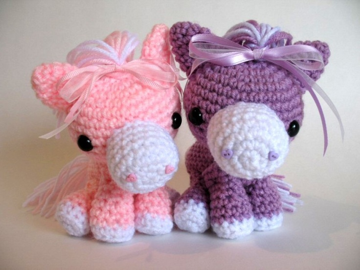 Cotton Candy Horse - Crochet Amigurumi Pinterest