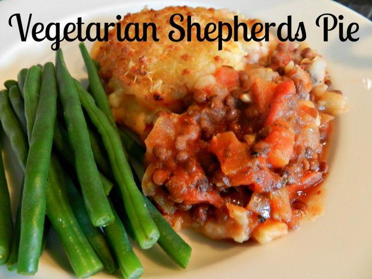 vegetarian shepherds pie, lentil