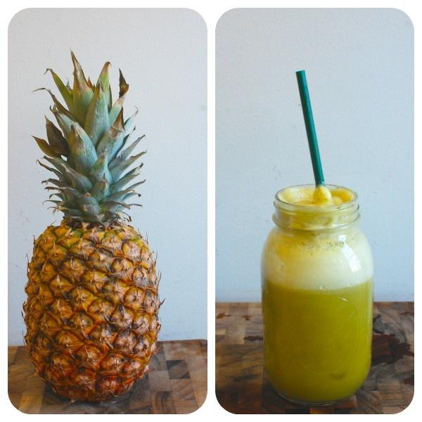 pineapple apple mint juice | Stick A Straw In It | Pinterest