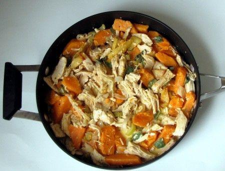 Martha's Sweet Potato and Turkey Hash | Recipes--Turkey | Pinterest