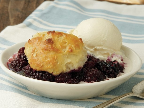 Blackberry Dumpling Cobbler-My students made this in Foods class ...