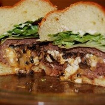 Texas Stuffed Grilled Burgers | Favorites | Pinterest