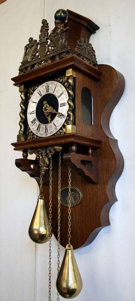 wall clock vintage wanddeko halloween dekoideen home design inspirations. Black Bedroom Furniture Sets. Home Design Ideas