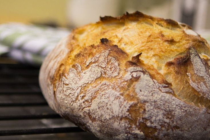 Crusty Bread is Best... Because homemade bread is heavenly.