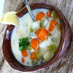 Awesome coconut clam chowder in no time | Living a Modern Paelo life ...