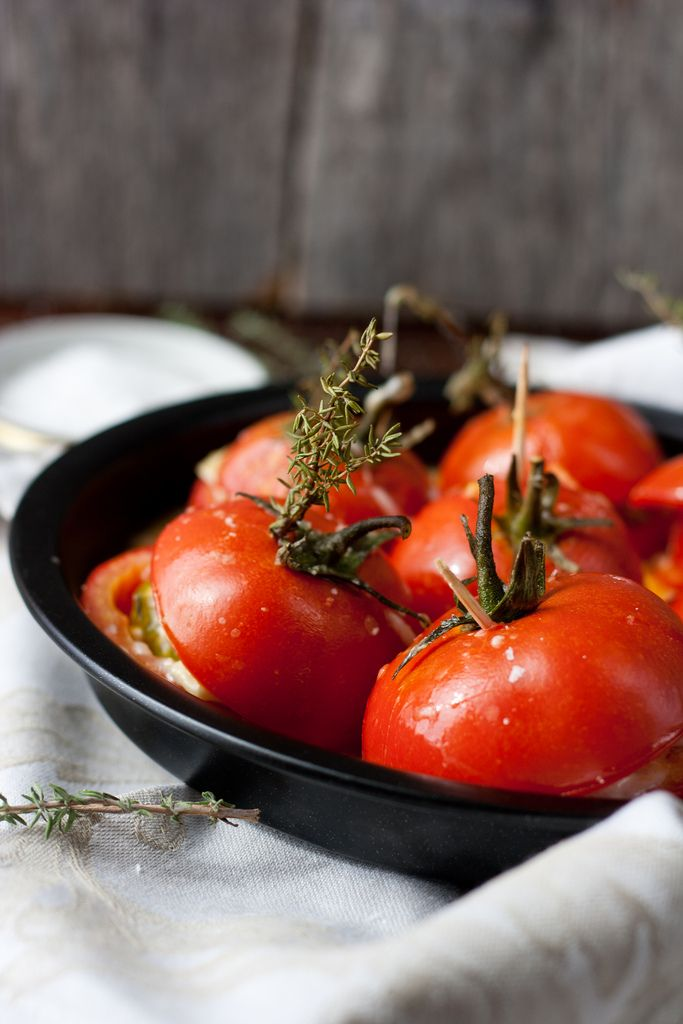 Oven-Roasted Tomatoes Recipe — Dishmaps
