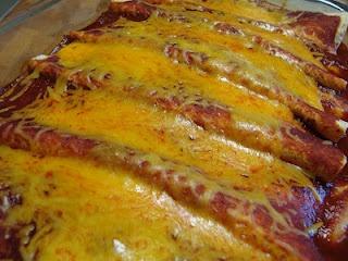 Turkey and Black Bean Enchiladas | Healthy Eating | Pinterest