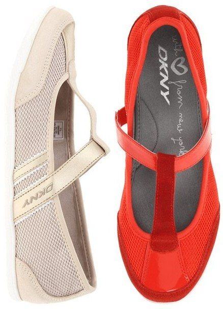 DKNY – Winnie: $39.99, 47% off! (normally 75.00)    Every step you take exudes feminine style with the Winnie from DKNY™. Synthetic and mesh upper, available in black, newspaper, and red.