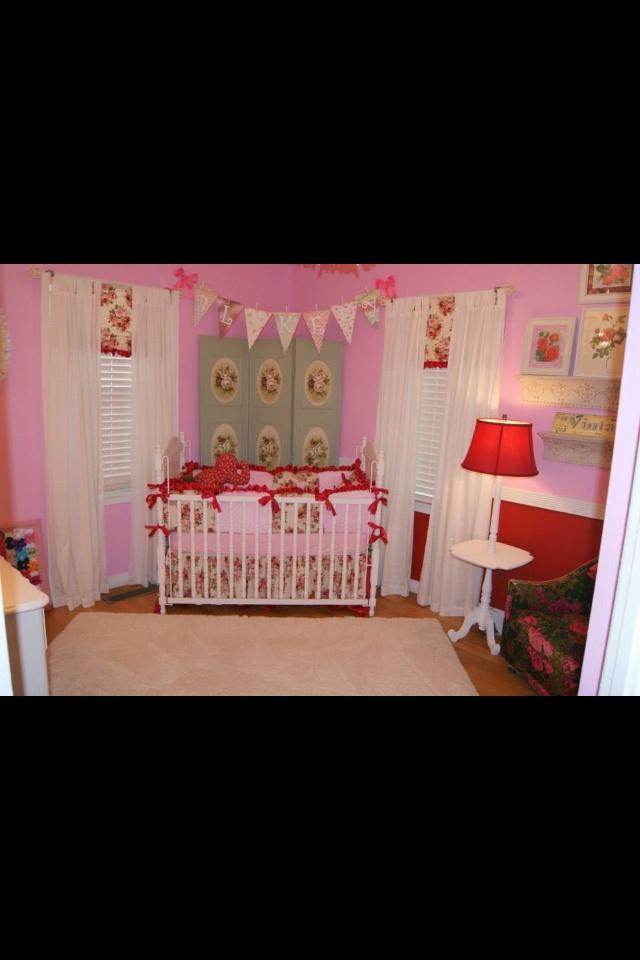Shabby chic baby room kids p s vision pinterest