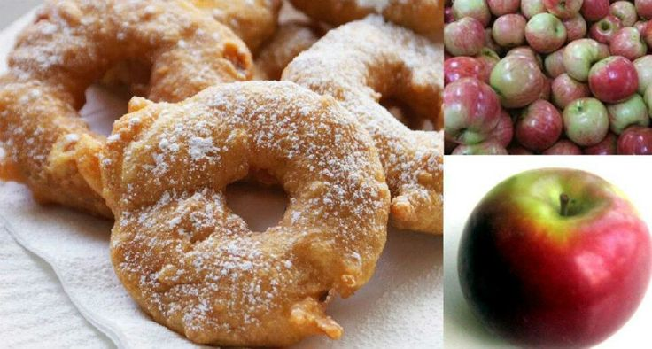 Apple fritter rings | Food | Pinterest