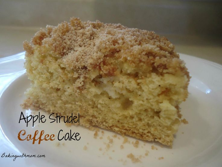 Apple Strudel Coffee Cake--Cinnamon and apples--great for a breakfast ...