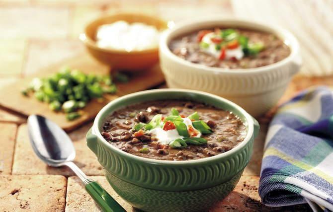 Cuban black bean soup. | Soups | Pinterest