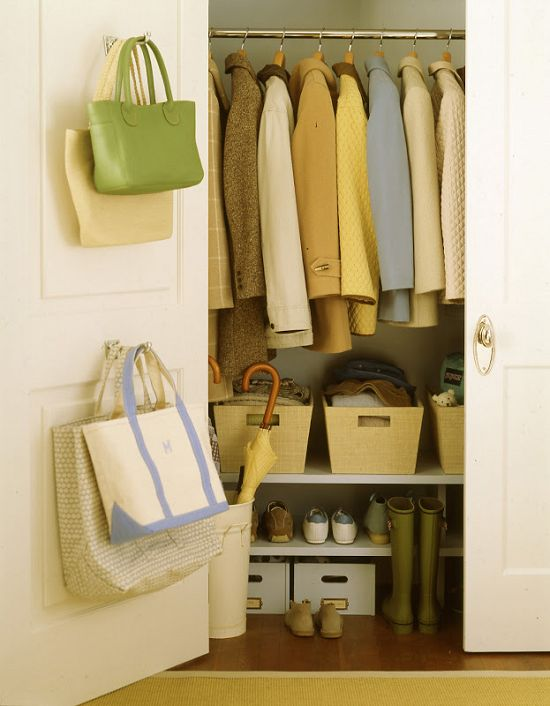 Foyer Closet Organization : Entryway closet organization a clean home is pretty