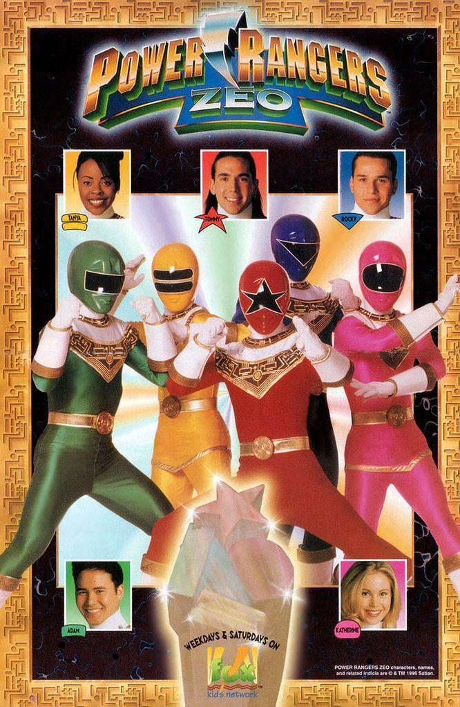 Phim Power Ranger Zeo