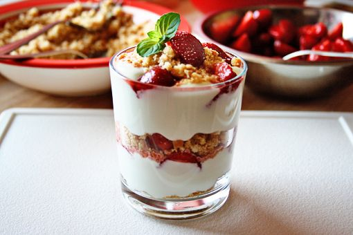 Strawberry Cheesecake Parfaits   Food   Pinterest