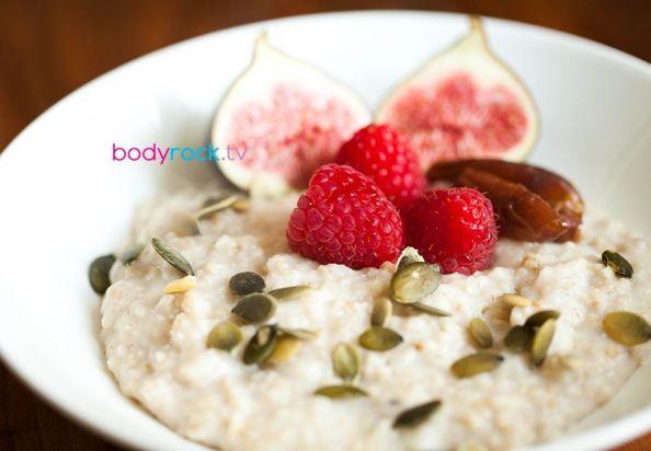 Quinoa Porridge With Blueberries And Pecans Recipe — Dishmaps