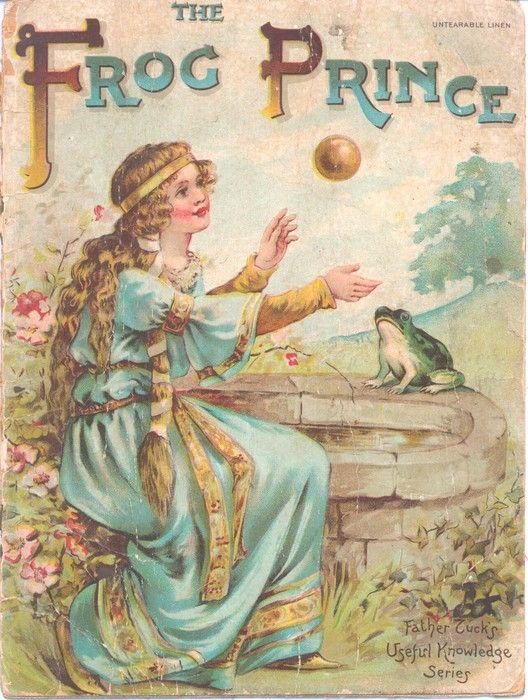 original frog prince story