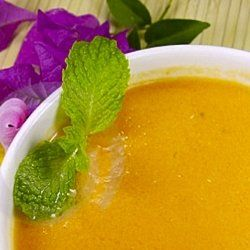 Chilled peach soup is perfect for a warn summer day. What a great easy ...