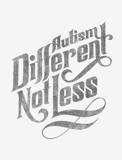 """Different not Less"" -- Eustacia Cutler, Temple Grandin's mother. #autism #ASD"