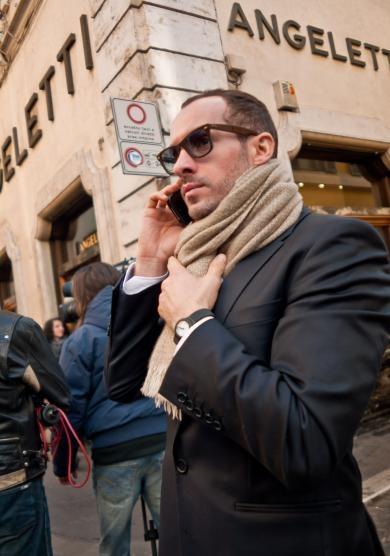 Italian men street fashion