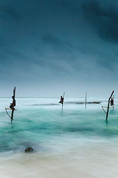 Stilt fishing koggala galle sri lanka photographica for Sri lanka fishing