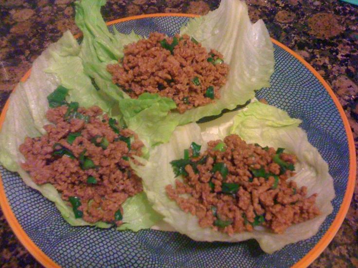 lettuce wraps mini chicken lettuce wraps asian chicken lettuce wraps ...