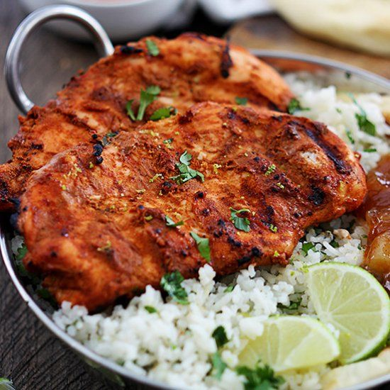 Grilled Tandoori Chicken | Poultry | Pinterest