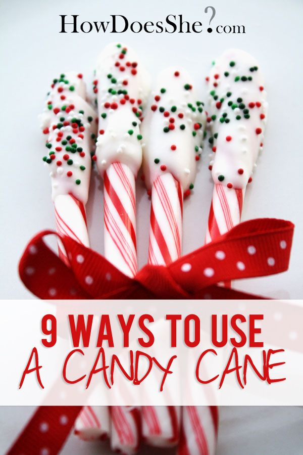 Ways to use a Candy Cane plus 1.Candy Cane Poem 2. ChristStory 3 ...