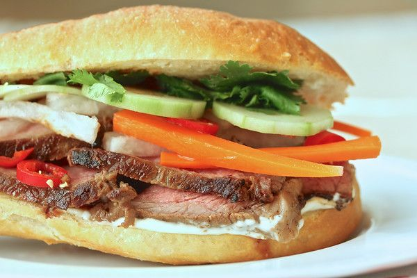 Maggi Steak Banh Mi with Daikon and Carrot Pickle from Karen's Kitchen ...