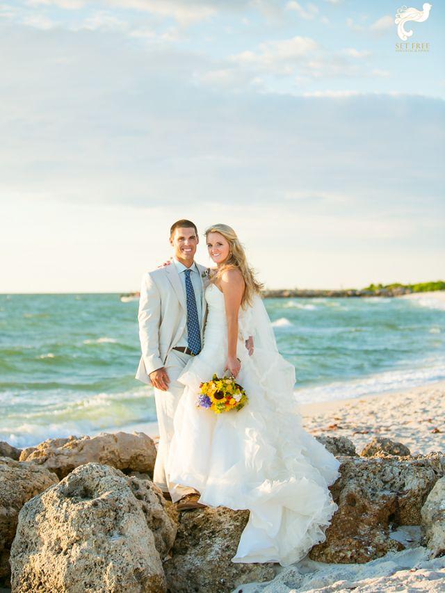 beach wedding in naples florida set free on pinterest