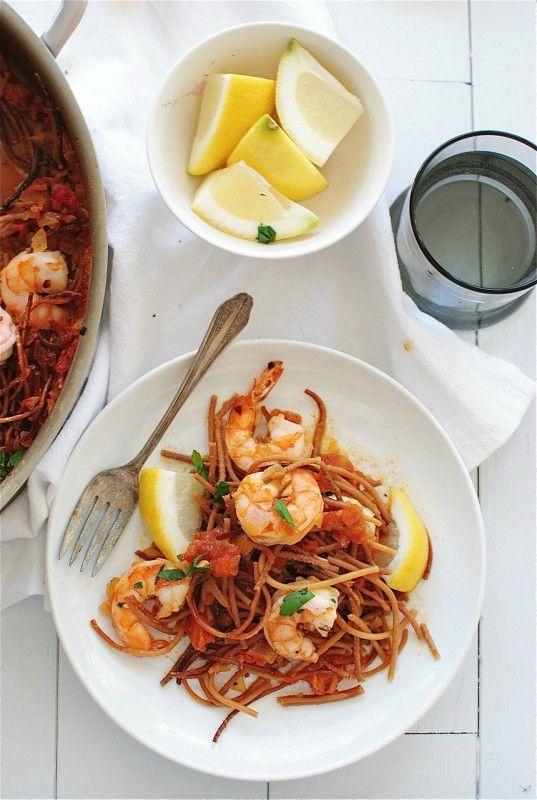 Paella with Pasta (Fideuá) | Meals - Pasta | Pinterest