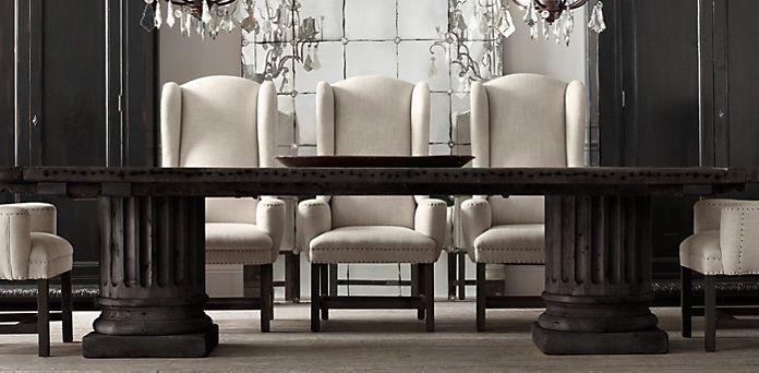 dining room tables like restoration hardware - BeautyDecoration