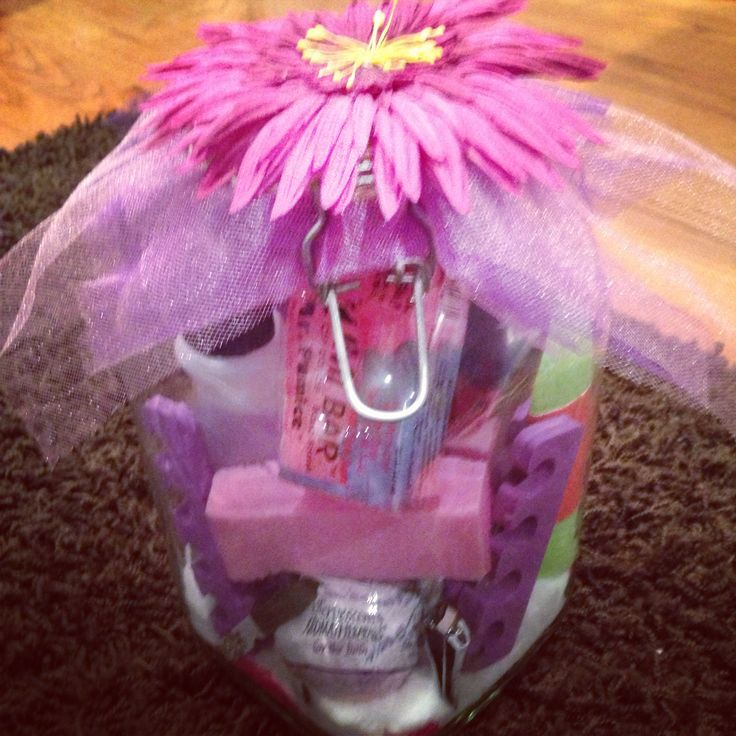 Manicure spa jar | Gift Ideas | Pinterest