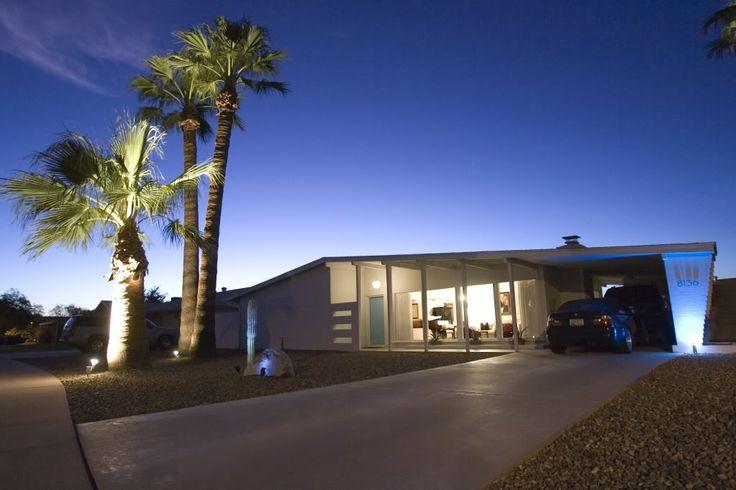 Mcm in tucson az mid century architecture pinterest for Modern homes arizona