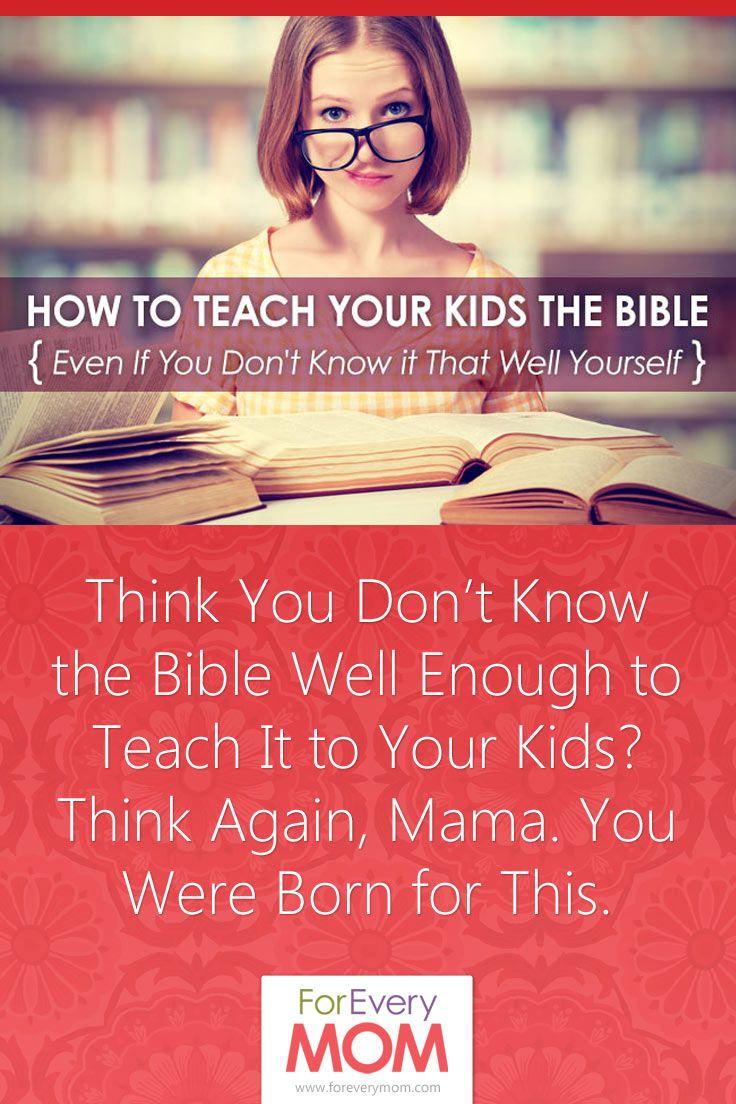 teach the bible to kids